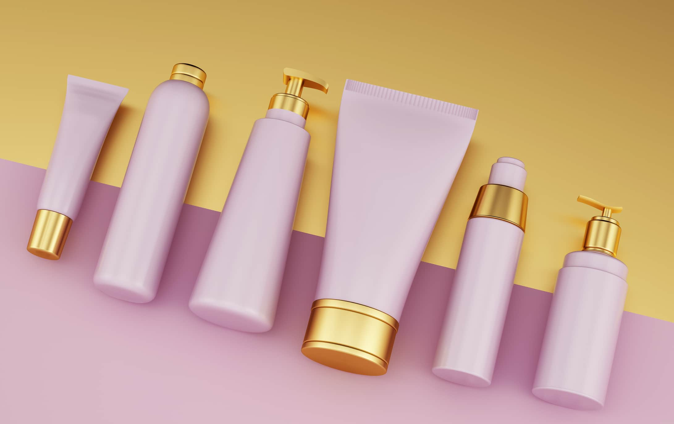 Many personal care products contain parabens and sulphates