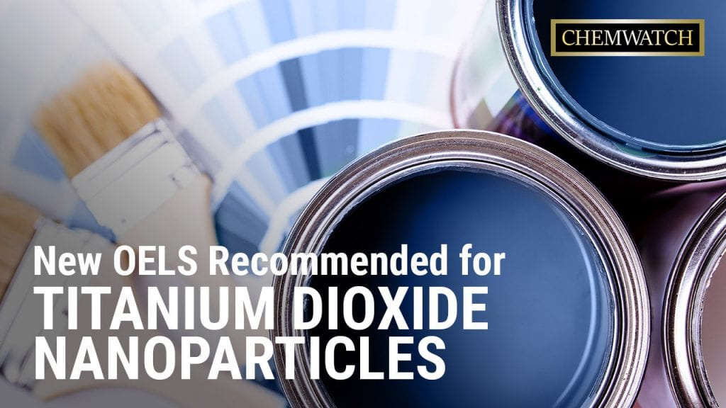 New OELS Recommended for Titanium Dioxide Nanoparticles