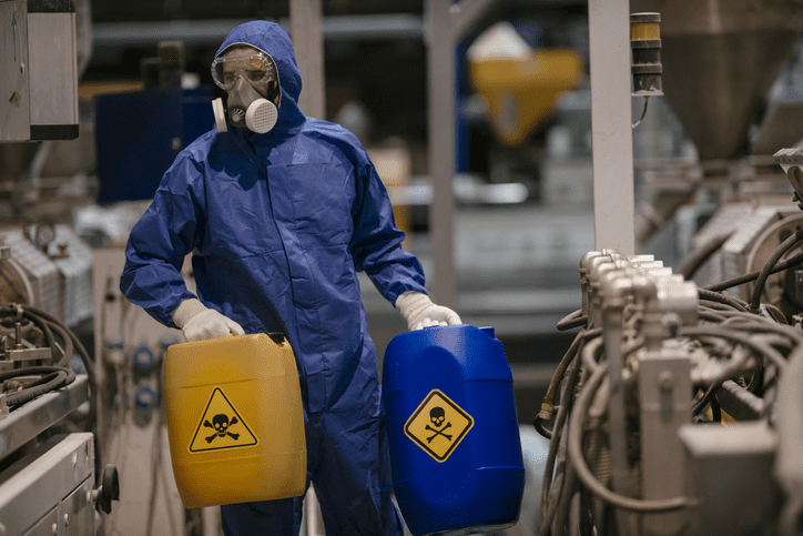 Cadmium is a classified carcinogen and must be handled with the proper care.