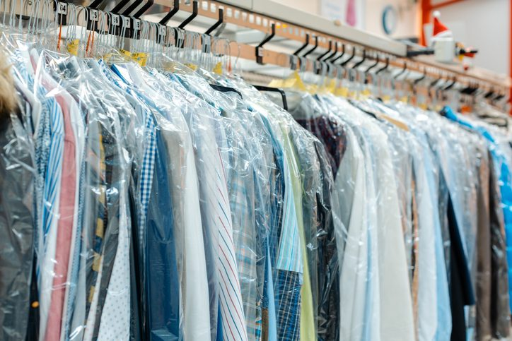Industrial dry cleaning is a large user of trichloroethylene