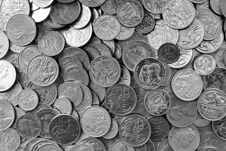 Silver coins are typically produced with a nickel and copper combination