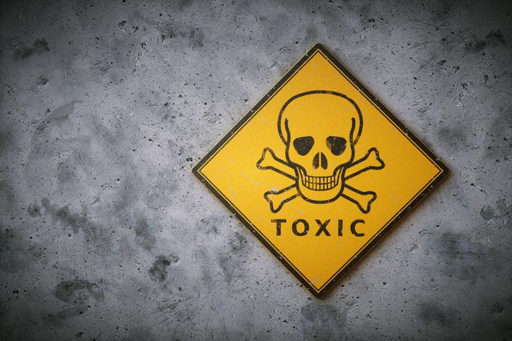 Arsenic is famously poisonous and exposure must be minimised