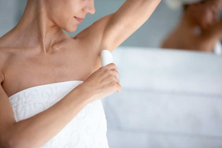 Aluminium chlorohydrate is the active ingredient in many antiperspirant deodorants
