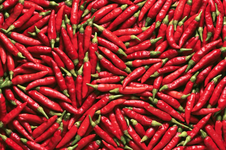"""Chilli peppers are naturally rich in capsaicin, making it no surprise it is used to """"heat"""" many different products."""