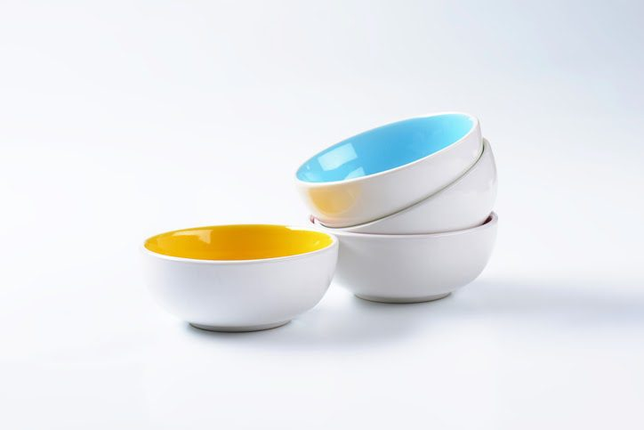 Melamine is used to produce dinnerware items such as bowls, plates and utensils.