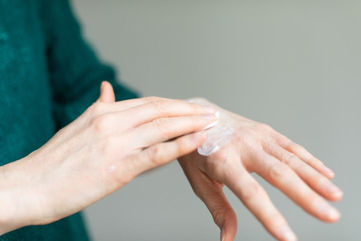 Lotions containing urea are used to treat skin conditions such as eczema and psoriasis.
