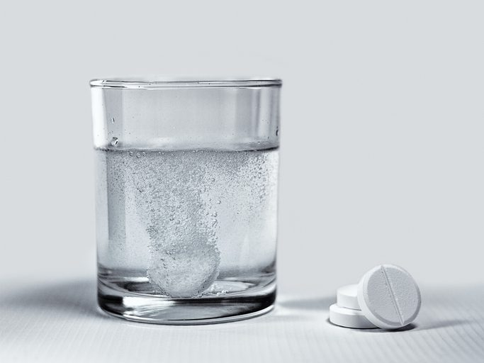 There is some evidence that taking aspirin can lower the risk of developing some types of cancer