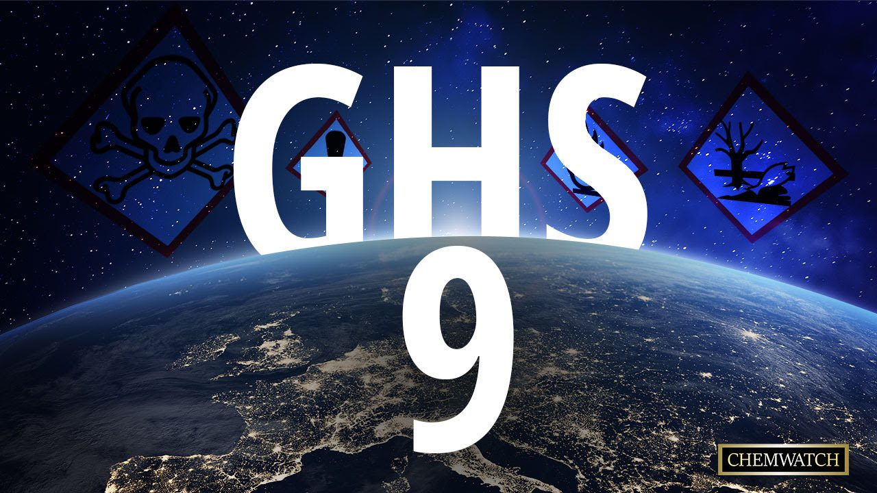 Revision 9 of the GHS is now available
